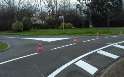 Aménagement sécuritaire du Centre ville (Grande Rue, Rue de Lugny, chemin de Bel Air, chemin de Coudrie)
