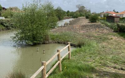 L'aménagement des berges dans la commune