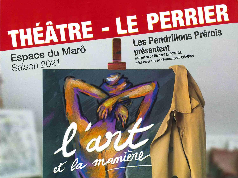affiche spectacle théâtre Les Pendrillons Prérois